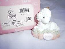 New Precious Moments Ornament Wishing Ewe Sweet Christmas Dreams Lamb 2006