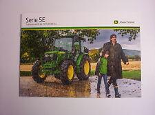 "Traktor - Prospekt "" JOHN DEERE Serie 5E "" von 2013 / aus Sammlung / TOP"