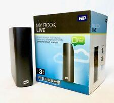 WD My Book Live NAS-System mit Festplatte 3TB (8,9 cm (3,5 Zoll), Cloudspeicher)