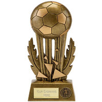 ICE FOOTBALL TROPHY MAN OF THE MATCH AWARD 20.25cm FREE ENGRAVING A1618C B4