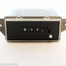 1977-1988 GM NOS Clock Buick Cadillac tested by D&M Restoration