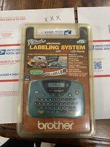 P-Touch Electronic Labeling System Model PT-65 NOS 2000 Brother International Co