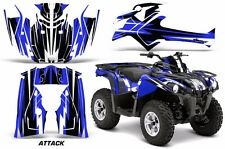 ATV Graphics Kit Decal Sticker Wrap For Can-Am Outlander-L 2014-2015 ATTACK BLUE