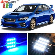 8 x Premium Blue LED Lights Interior Package Kit for Subaru WRX STi 04-17 + Tool
