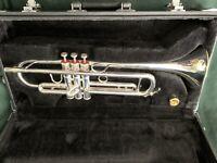 JUPITER JTR-1604 Silver-plated Trumpet-MINT