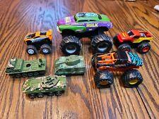 Tanks & Monster Truck Diecast VEHICLE lot