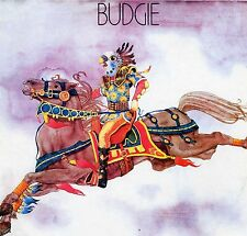 """BUDGIE """"S/T"""" RE GER REPERTOIRE RED VINYL LIMITED Ed. 1971/89"""
