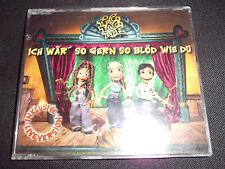 TIC TAC TOE Ich wär' so gern so blöd wie du Pop Maxi CD 4 Tracks TOP+günstig!!!
