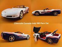 Chevrolet Corvette Indy 500 Pace Car 2004 Auto World Maßstab 1:18  OVP NEU