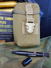 USMC EAGLE INDUSTRIES TRIJICON OPTICS POUCH AND LENS PEN COYOTE TAN