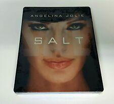 SALT - Blu-ray STEELBOOK [JAPAN] Brand NEW / MINT / REGION FREE / OOP