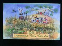 2005 AUSTRALIA BABY PROOF COIN SET - KOALA - RAM ISSUE AS NEW and SCARCE