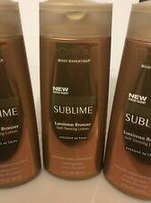 LOT OF 3 - L'oreal Body Experience Sublime Bronze Luminous Bronzer 6.7 Fl Oz