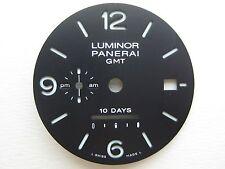 GENUINE PANERAI LUMINOR GMT 10 DAYS WRIST WATCH DIAL BLACK COLOR