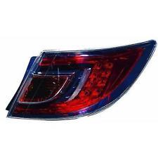 Faro luz trasera derecha MAZDA 6 07-03.10 4/5pt, no wagon, LED rosso