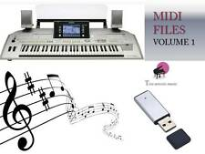 MIDI File Karaoke USB stick for Tyros 2 Vol 1