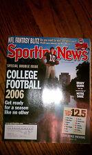 The Sporting News Brady Quinn Notre Dame Fighting Irish #10 QB NCAA Football