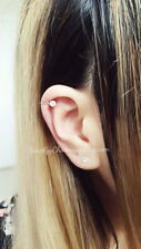 Rhinestone Cubic Zirconia Ear Cuff For Cartilage/Tragus/Lobe/Nose