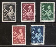 Nederland    Nummer  313/317   Postfris