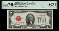 1928G $2 Legal Tender FR-1508 - Graded PMG 67 EPQ - Superb Gem Uncirculated