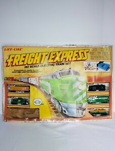 Vintage Life-Like Freight Express Ho Scale Electric Train Set - Unused