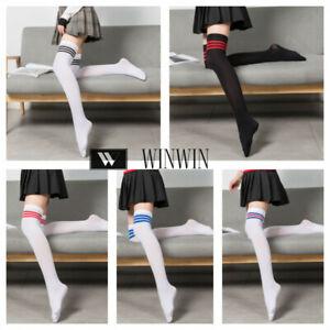 Womens Girls Long Socks Over Knee Thigh High Stockings Hosiery Quality Pantyhose