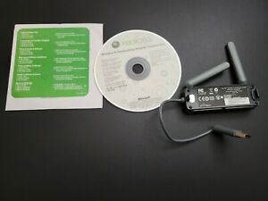 Official OEM Microsoft Brand Wireless N Network Networking Adapter w disc #1398