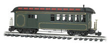 Bachmann 97103 Undec Green/Gold Combine W/Full Interior, Lighted, Metal Wheels