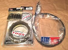 Honda CR250R 2004-2007 Tusk Clutch, Springs, Cover Gasket, & Cable Kit