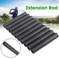 10Pcs Golf Club Steel Shaft Extension Rod Extender Sticks Tools Putters