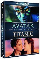 Coffret AVATAR TITANIC en Blu ray 3D - Neuf sous blister - Edition Française