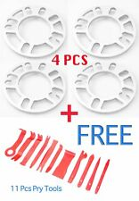 4Pcs 8mm Car Wheel Spacer Adaptor 5x100 5x114 + 11PCS Pry Tool Fit MITSUBISHI