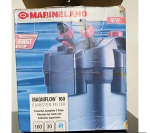 Marineland Magniflow 160 Canister Filter Maintenance Fast Setup.