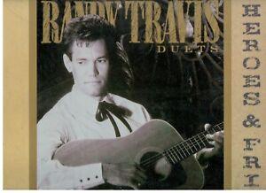"""Randy Travis        2-LP's         """"Always & Forever""""      """"Heroes & Friends"""""""