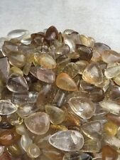 230g 45-60pcs Rutilated Quartz Crystal-Tumbled Stone Pendant Healing Crystal