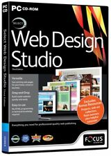 * PC NEW SEALED Software * Select WEB DESIGN STUDIO * 3rd Edition