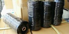 Ocean Natives No.18 Black Tarred Braided 1Lb Spool 1167 ft Strong Twine