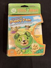 Leap Frog Click Start Educational Software Scout's Puppy Pals New Factory Sealed