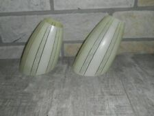 alte Glas  Lampenschirm  2 Stück    Nr.705
