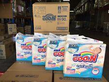 GOON Japanese Nappies Japan Version Up to 5kg Carton 4 x 90pcs  #39477