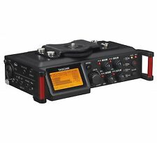 Tascam 4-Channel Linear PCM Audio Portable DSLR Film Recorder/Mixer | DR-70D