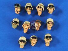 Verlinden 1/35 US Modern Soldier Heads Set (Iraq - Afghanistan) (11 heads) 2641