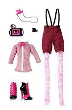 Monster High Draculaura fashion pack de accesorios de coleccionista raramente w2553