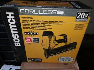 """Bostitch BCF28WWB 20V MAX Wire Weld Cordless Framing Nailer 2"""" to 3-1/2"""""""