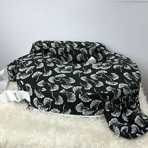 My Brest Friend Original Nursing Posture Pillow, Black & White Unisex