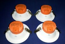 4x LUMiLife LED Downlights 10W, IP54 Fascia, 90-95mm Cutout, 3 Light Tones (New)