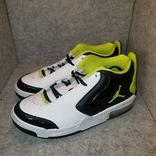 "*New* Nike Air Jordan Big Fund SE Sneaker GS ""Black Cyber"" CD8820-003 Size 6Y"