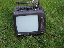 VINTAGE RARE SOVIET USSR  PORTABLE B & W  ANALOG TV  ELEKTRONIKA 409D