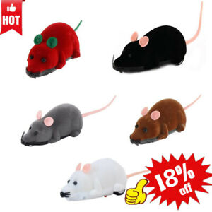 Funny Remote Control RC Rat Mouse MICE Wireless For Cat Toy Pet Gift Dog J2C5