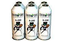 6 CANS Enviro-Safe R-290 R290 NEW Stand Alone Fridge Freezer (EPA Snap Rule 17)